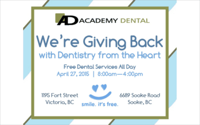 Let's Celebrate Dentistry from the Heart at Academy Dental