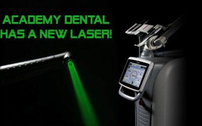 Academy Dental has a new laser!